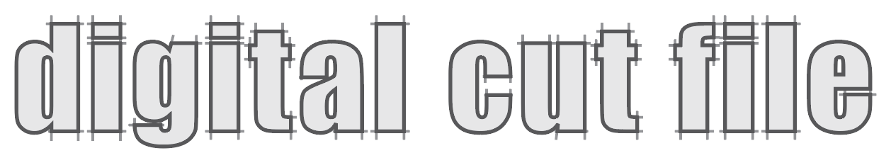 digital cut file logo