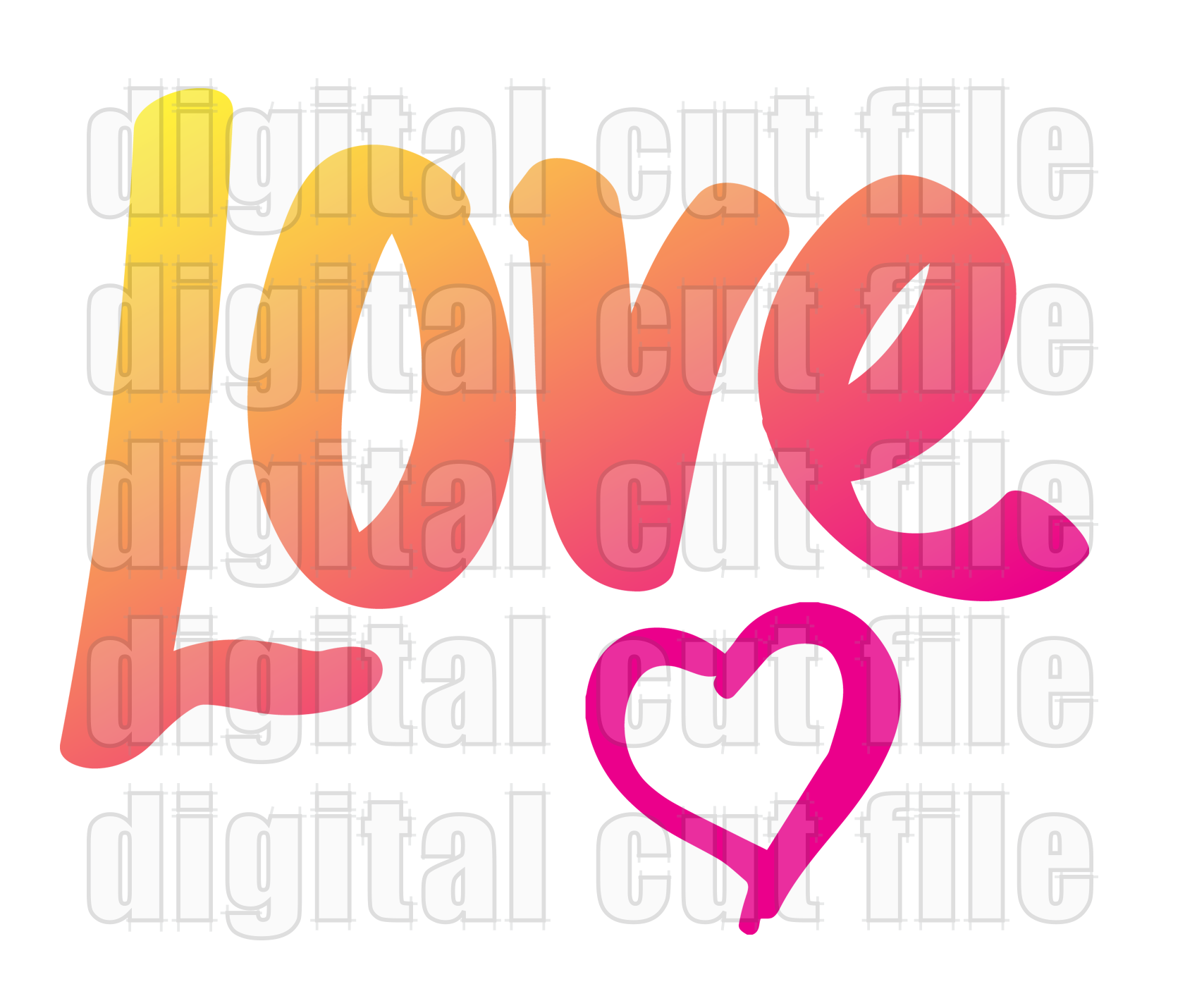 Love Valentine Svg Download Www Digitalcutfile Com